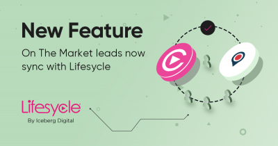NEW FEATURE - On The Market leads now sync with Lifesycle