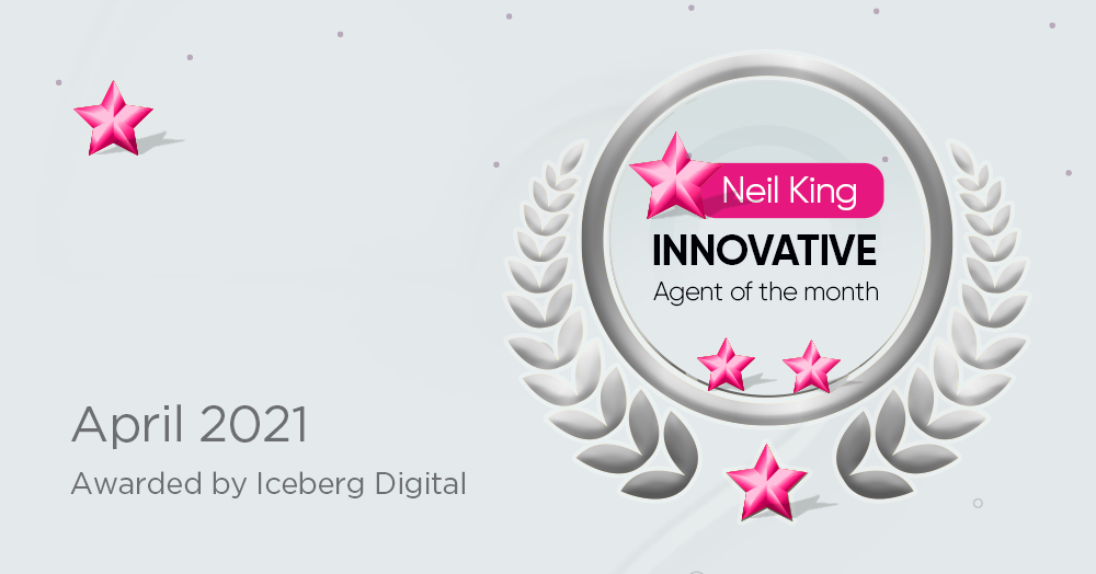 Innovative Agent of the Month for April 2021 – Neil King of Neil King Residential