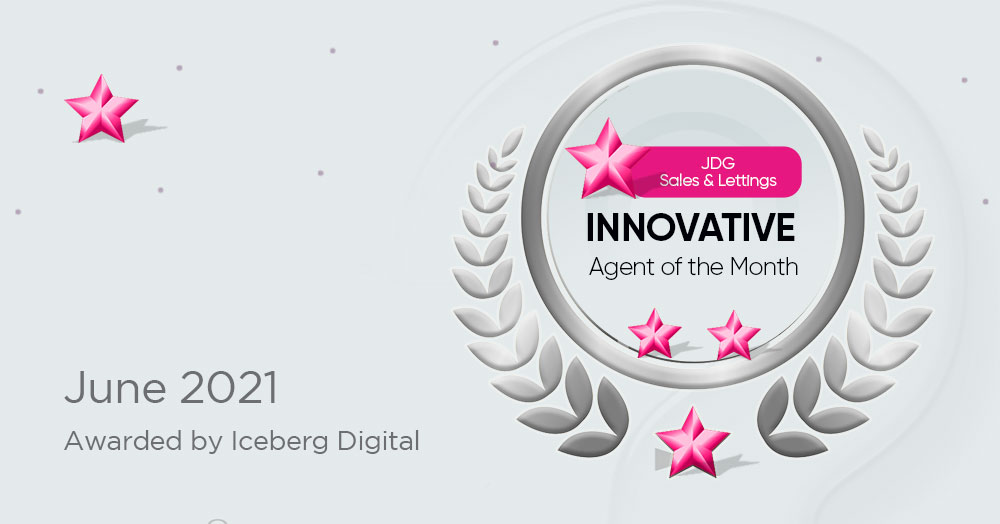 Innovative Agent of the Month for June 2021 – JDG Sales & Lettings