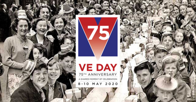 Join us in safely celebrating 75th Anniversary of VE day this Friday!