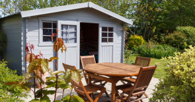 Refresh your garden shed in time for the summer!