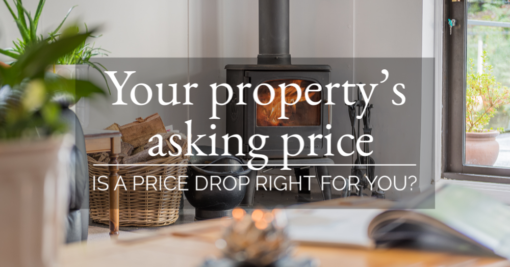 Your property's asking price - is a price  drop right for you?