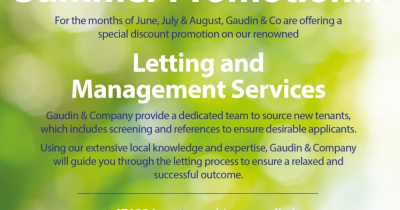 Landlords! We have a special summer deal on just for you!