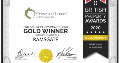 A gold winner at the British Property Awards!