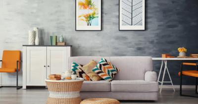Combining colours in interior design