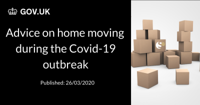 Government advice on home moving during Covid-19