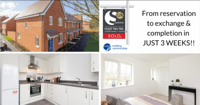 Proof it can be done: from offer to completion in just 3 weeks!