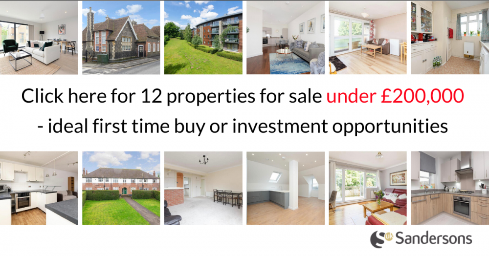12 properties for sale under £200k- ideal first time buy or investment