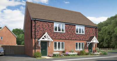 Shared Ownership from 35% - 75%. Brand new, 3 bed home in Horam