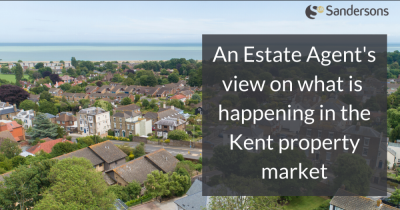 What is happening to demand & prices in the Kent property market?
