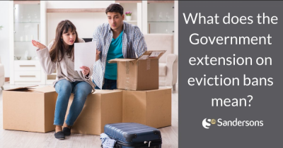 What does the extension on the eviction ban mean for me?
