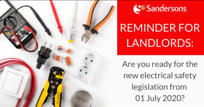 Landlords : Are you ready for the new electrical safety legislation?