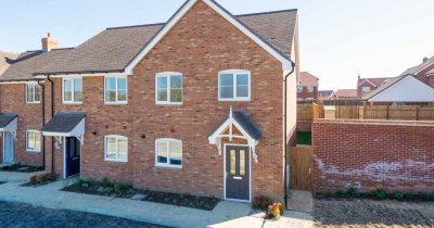Shared ownership from 35%. Brand new 3 bed house in Village location