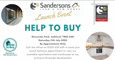 HELP TO BUY LAUNCH EVENT. Saturday 11th July 2020. 10am - 4pm